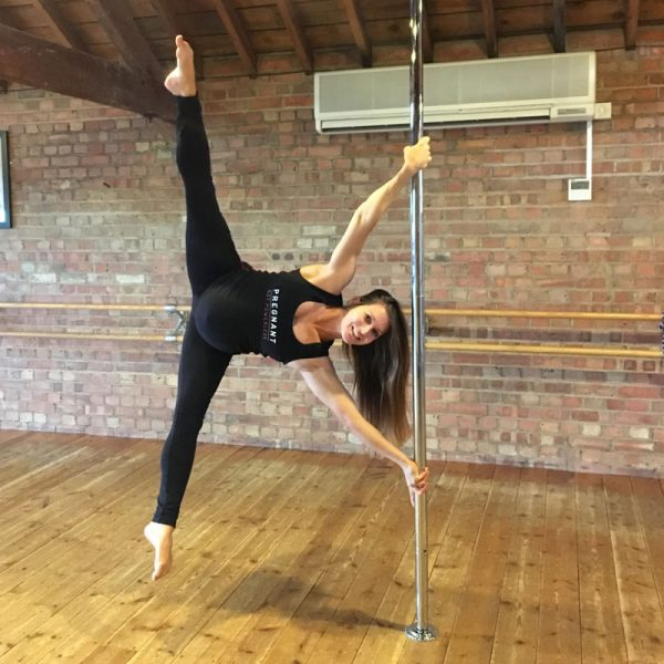 pregnant not powerless exercise top pole fit