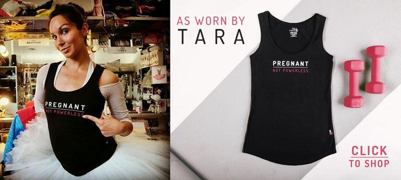 shop tara's pregnant not powerless vest