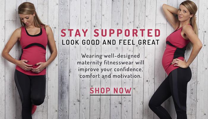 shop well-designed maternity fitnesswear