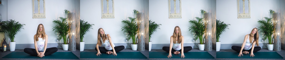 BUTTERFLY pregnancy yoga sequence