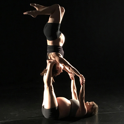 pregnant acrobats active for two