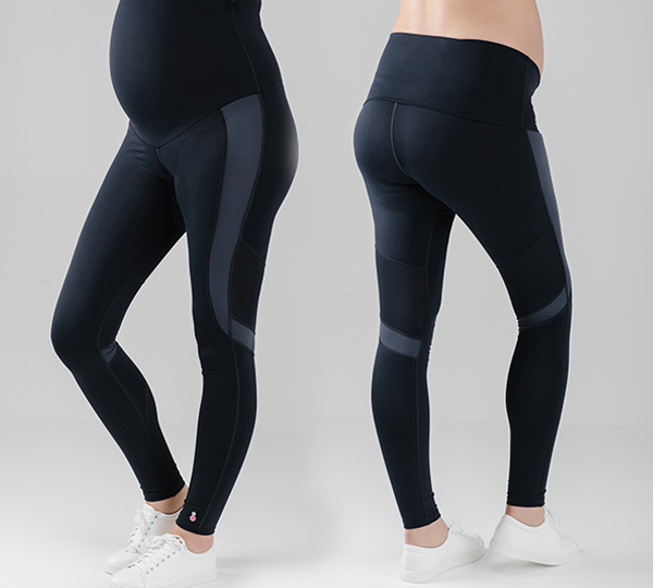 Can maternity activewear leggings help ease pain?