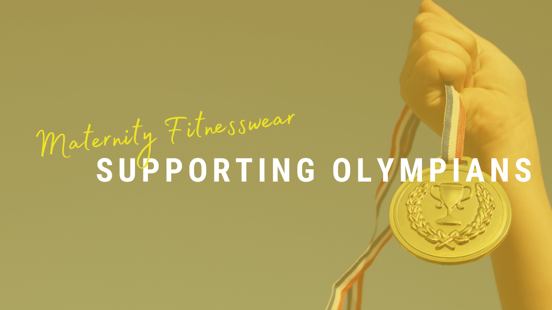Maternity fitnesswear supporting Olympians